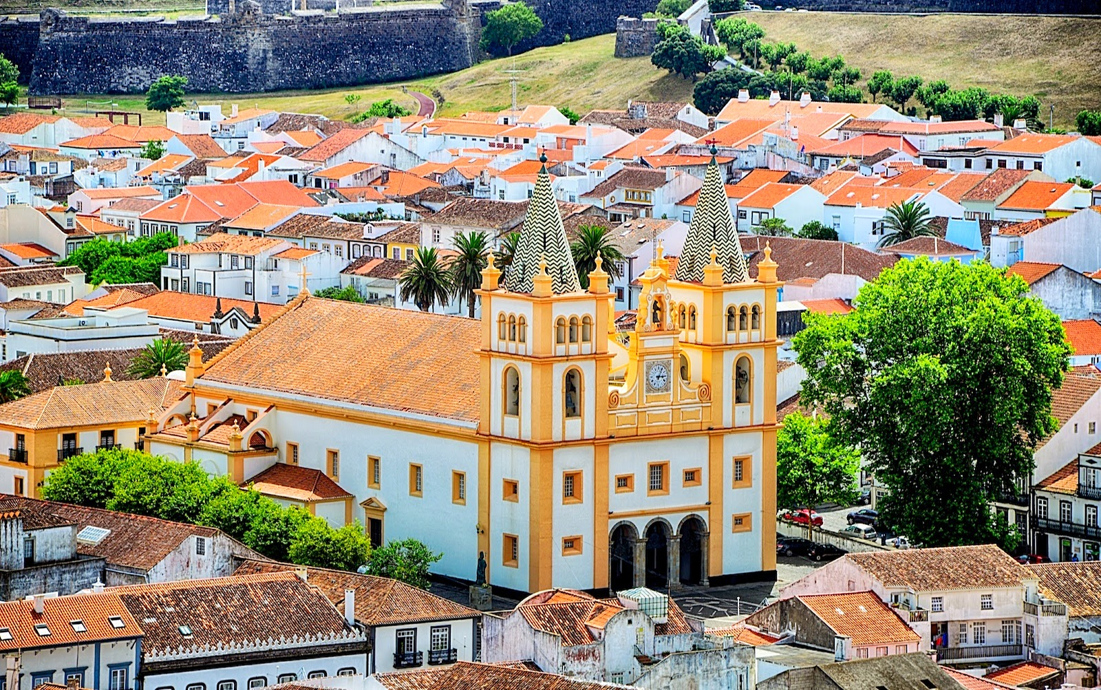 Sé Cathedral of Angra do Heroísmo, Terceira Island, Azores, Portugal