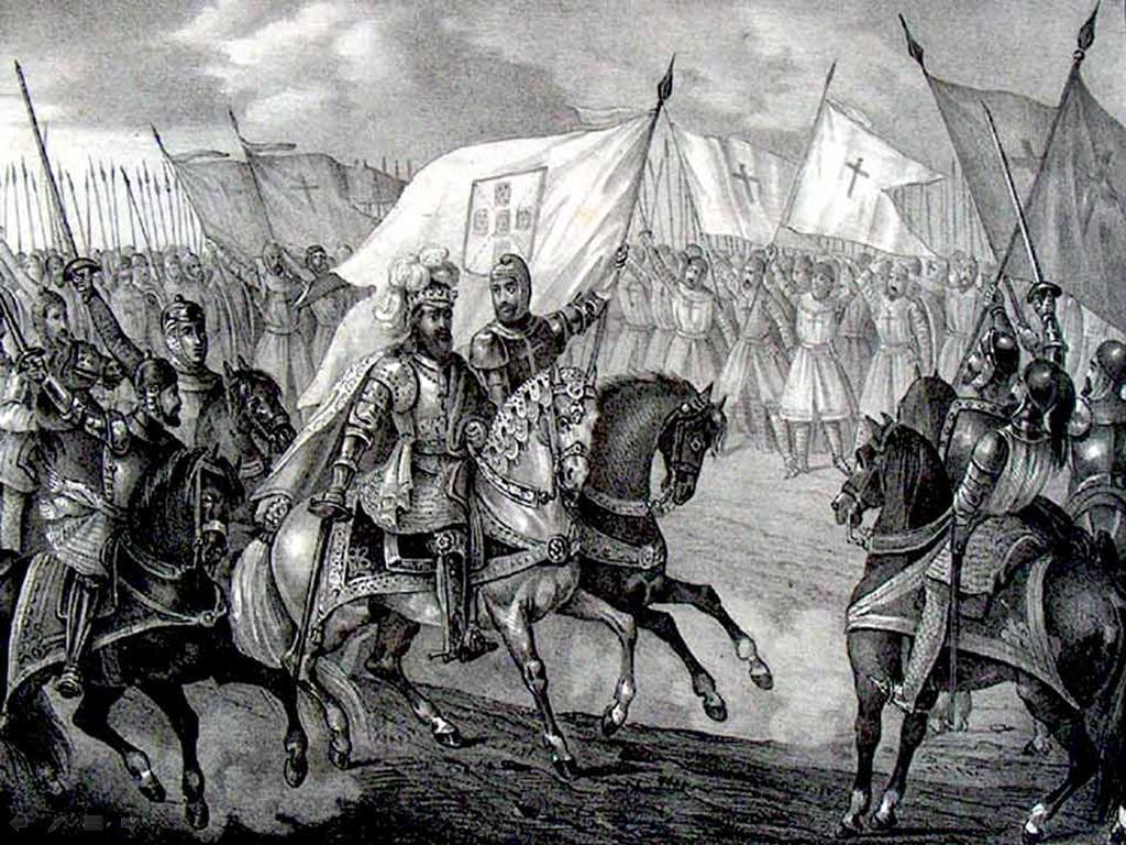 Um dos momentos cruciais que ditou o nascimento de Portugal foi a Batalha de São Mamede, travada a 24 de Junho de 1128 Imagem: Reprodução..