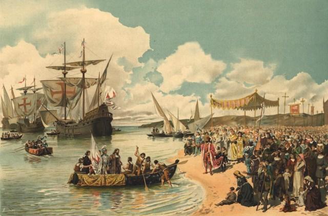 Partida de Vasco da Gama para a Índia