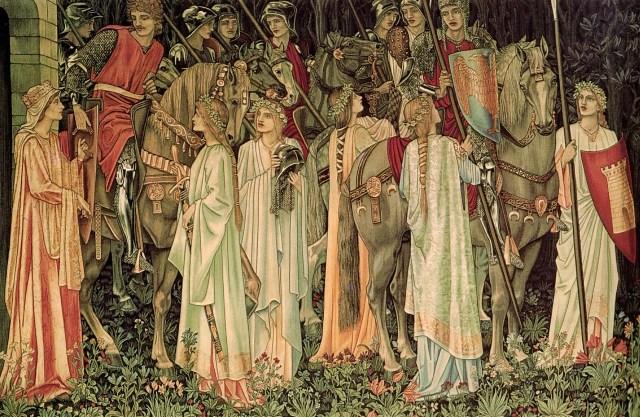 Partida dos Cavaleiros em busca do Santo Graal