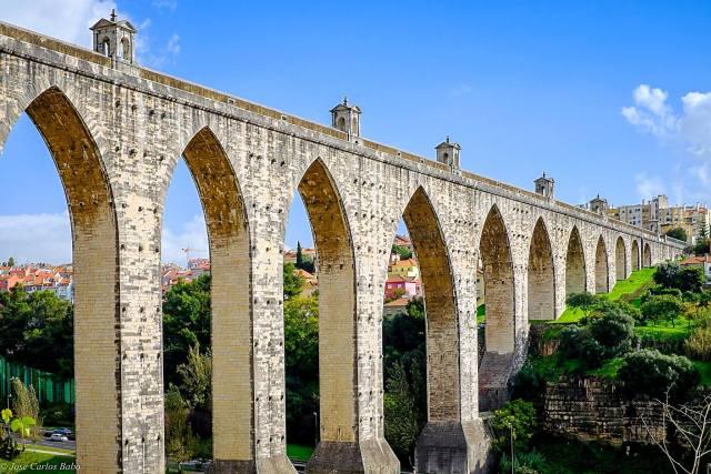 Aqueduto das Águas Livres, onde o assassino cometia a maioria dos seus crimes