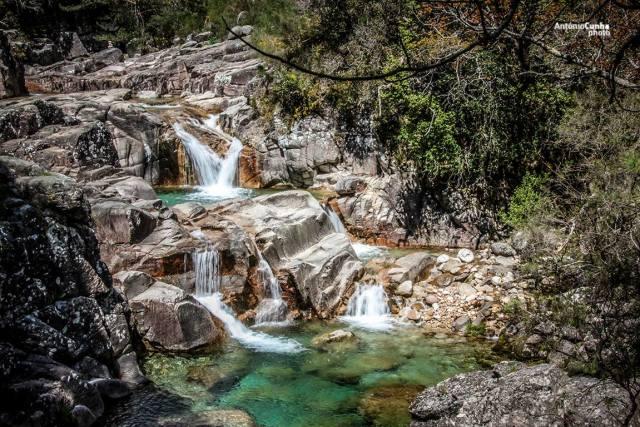 Cascata das Lagoas da Mata da Albergaria