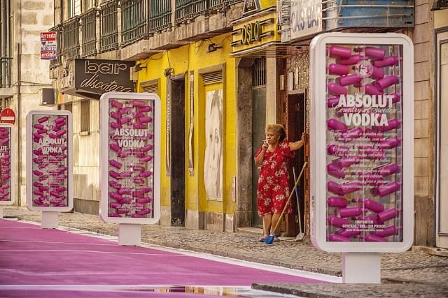 """Rua """"Cor de Rosa"""" - Lisboa"""