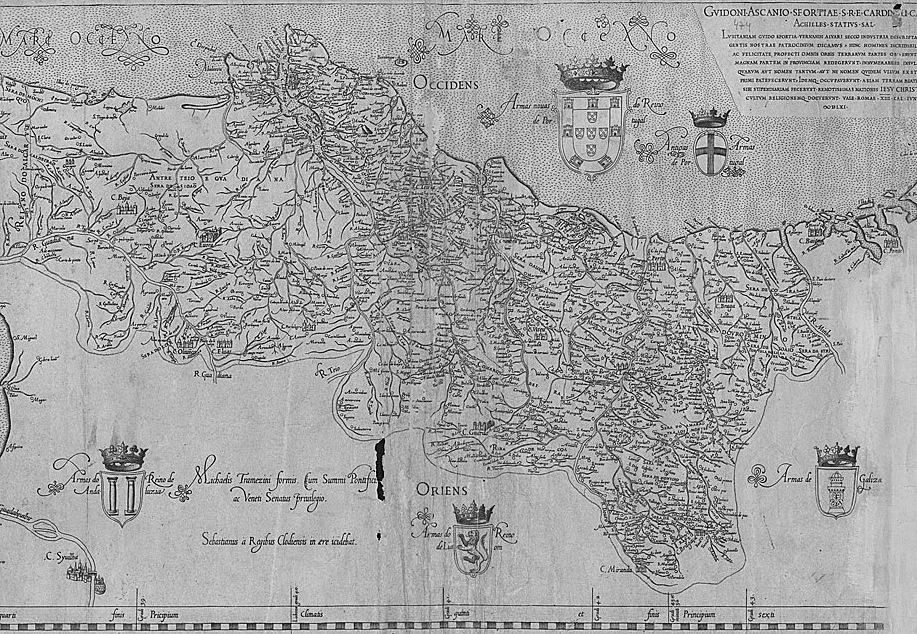 portugal mapa antigo O mapa mais antigo de Portugal | VortexMag portugal mapa antigo