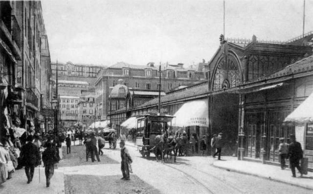 Praça da Figueira no século XIX
