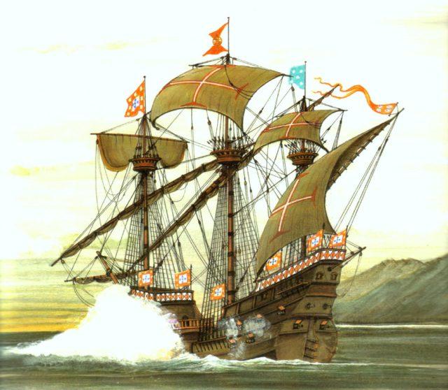 Resultado de imagem para caravelas naus e galeões