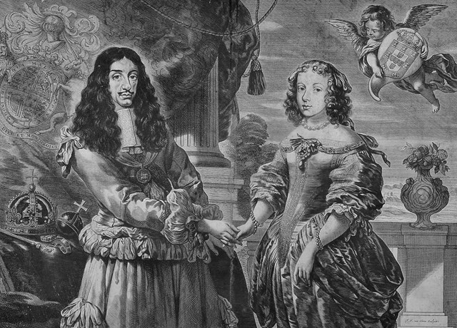 Carlos II e Catarina de Bragança