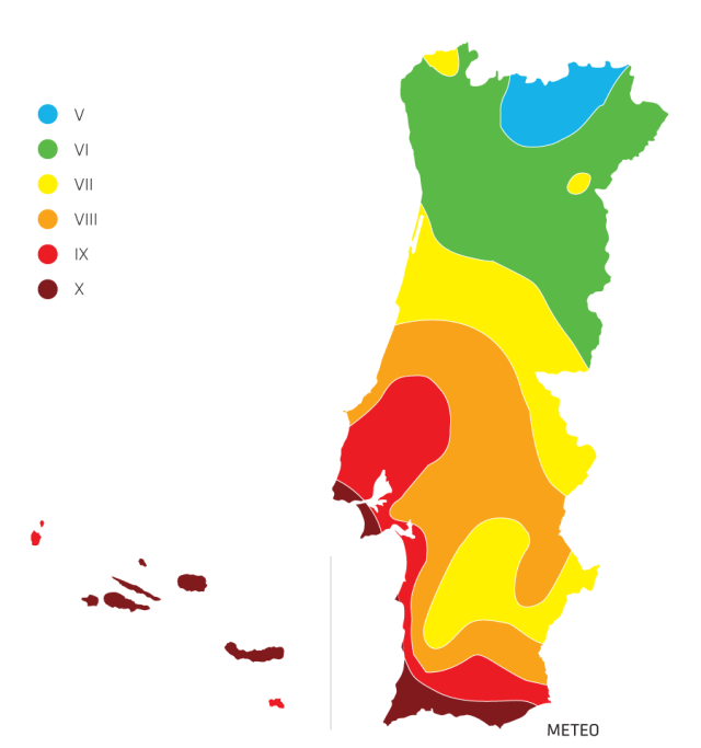 mapa sismos portugal Sismos em Portugal: as 14 localidades maior risco | VortexMag mapa sismos portugal