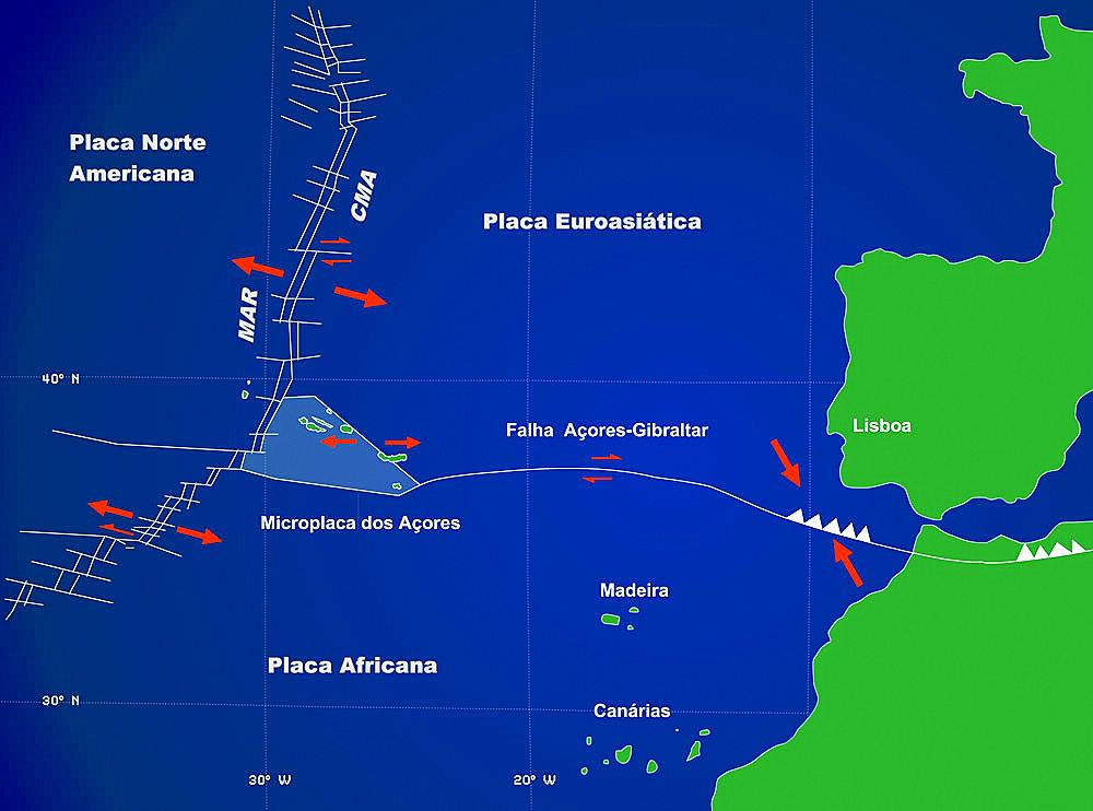 mapa de sismos em portugal Sismos em Portugal: as 14 localidades maior risco | VortexMag mapa de sismos em portugal