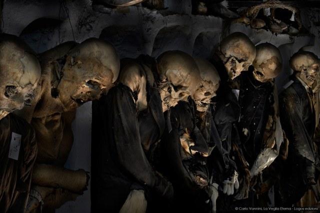 Catacumbas dos Capuchinhos de Palermo (Itália)