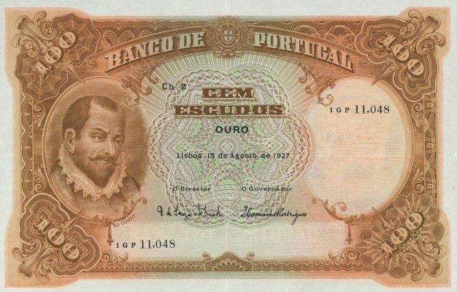 100$00 de 1927