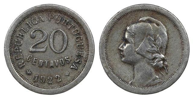 20 centavos de 1922
