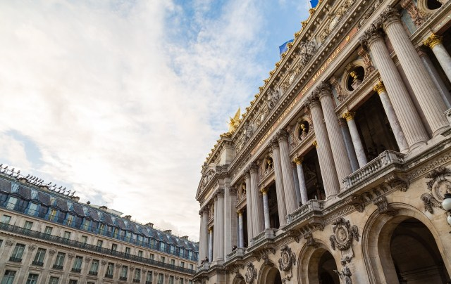 Palais Garnier e a biblioteca-museu da Ópera Garnier