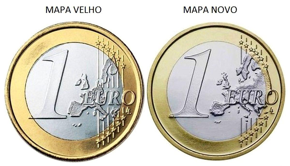 """Portugal (2008 """"Moeda com erro""""): 105 euros"""