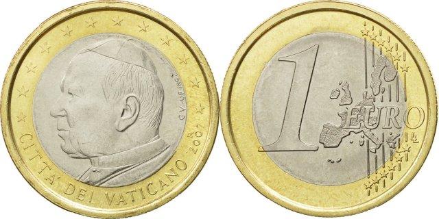 Vaticano (2002): 125 euros