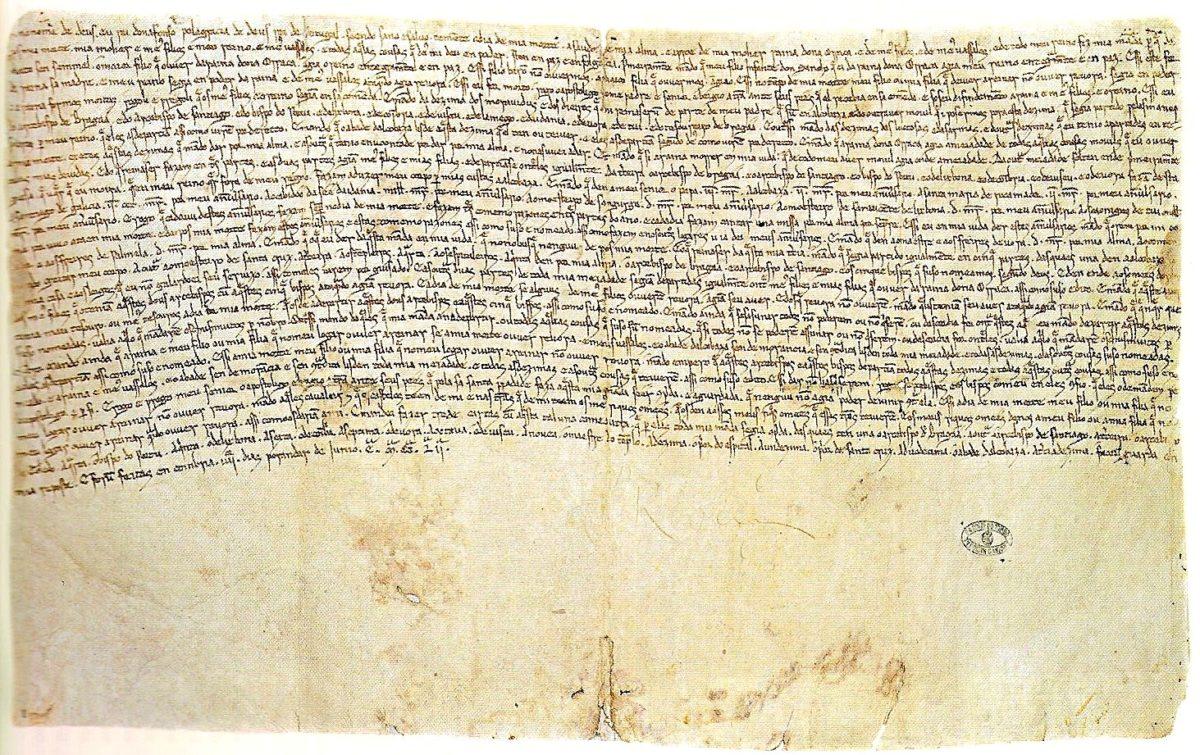 este é o texto mais antigo escrito em português vortexmag