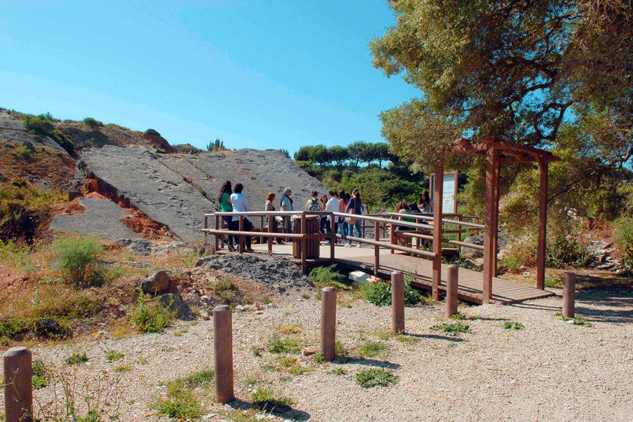 Jazida de Icnofósseis da Pedreira do Avelino