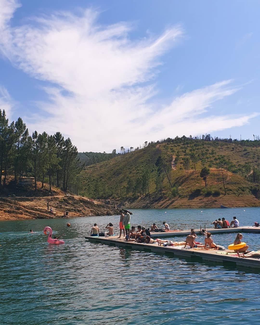 Praia fluvial da Aldeia do Mato