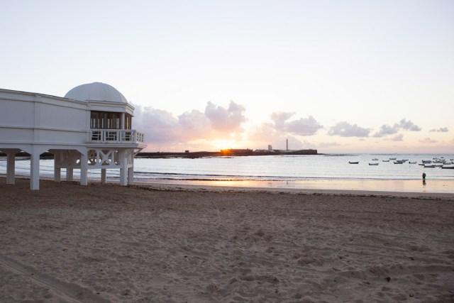Praia de la Caleta (Cádiz)