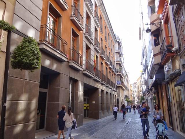 Antiguo edificio de la Diputación de Granada, Granada
