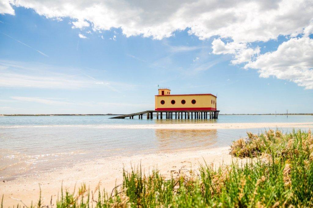 praias de água quente no Algarve