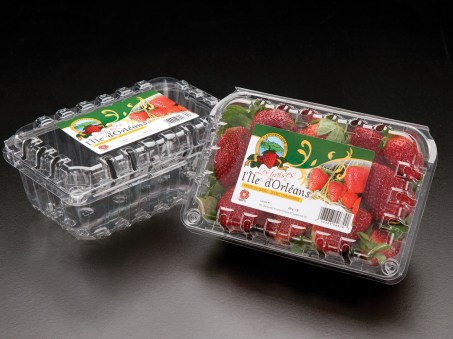 1lb Strawberry Clam