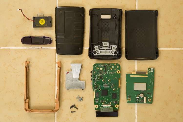 GT-7 components 2