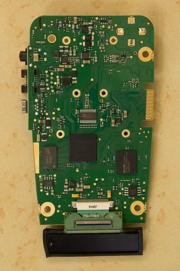 GT-7 primary PCB rear