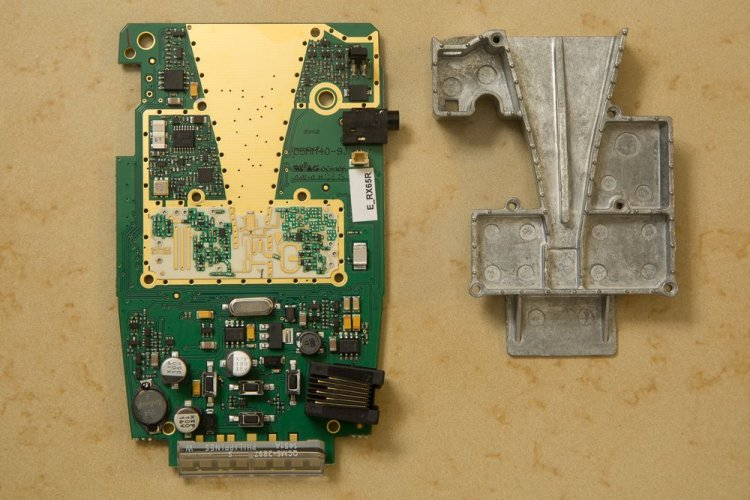 RX65 M4 horn and PCB
