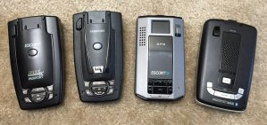 Escort 9500ix, S75G, iX, and Max2
