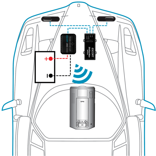 small resolution of escort zw5 installation and wiring diagram