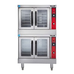 Vulcan Kitchen Equipment High Top Sets Vc44ed Double Standard Depth Full Size Electric Convection Oven