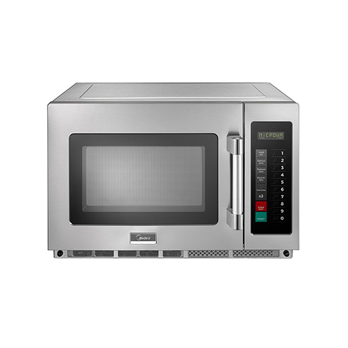 midea 2134g1a 2100 watts digital control heavy duty commercial microwave oven