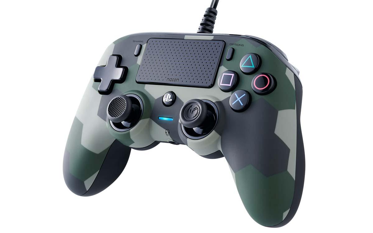 NACON推出PS4流媒體麥克風和迷彩有線緊湊型控制器 | 電腦配置資訊網