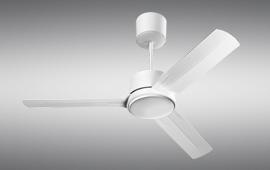La luce della ventola può essere dimmerabile con il telecomando; Ventilazione Estiva Soffitto Vortice