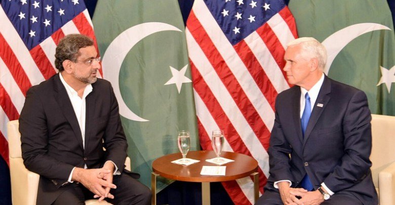 Pakistan committed to Afghan peace, PM Abbasi tells US Vice