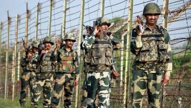 Pakistan-India border