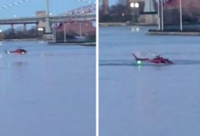 At least 5 dead in helicopter crash in New York City's East River