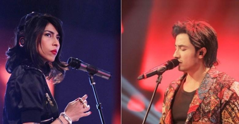 Ali Zafar and Meesha Shafi