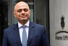 Sajid Javid, UK home secretary
