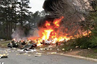 US plane crash in Georgia kills family of 5