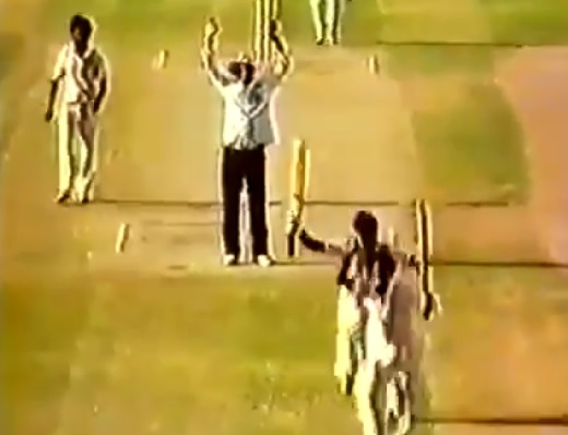 35 years on last ball winning sixer, Miandad and Tauseef still remembered in golden words.