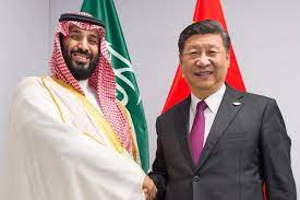 Chinese President telephonic conversation with Saudi Crown Prince Mohammed bin Salman.
