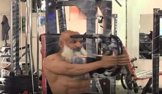 Pakistani bodybuilder Abdul Waheed proves age is just a number