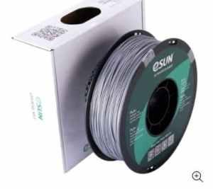 eSun - PLA+ - Argent (Silver) - 1.75 mm - 1 kg