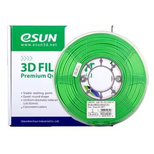 Filaments 3D PLA ESUN vert
