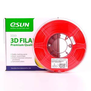 Filaments 3D PETG SOLID ESUN rouge