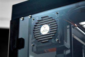 ventilateur de refroidissement complété d'un filtre HEPA