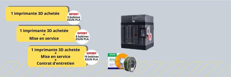 offre bobines filaments impression 3D