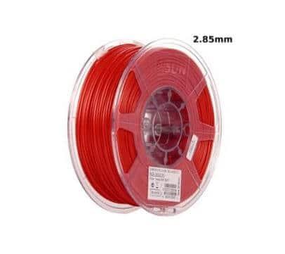 filament eSUN PLA+ 2.85mm 1Kg - Rouge